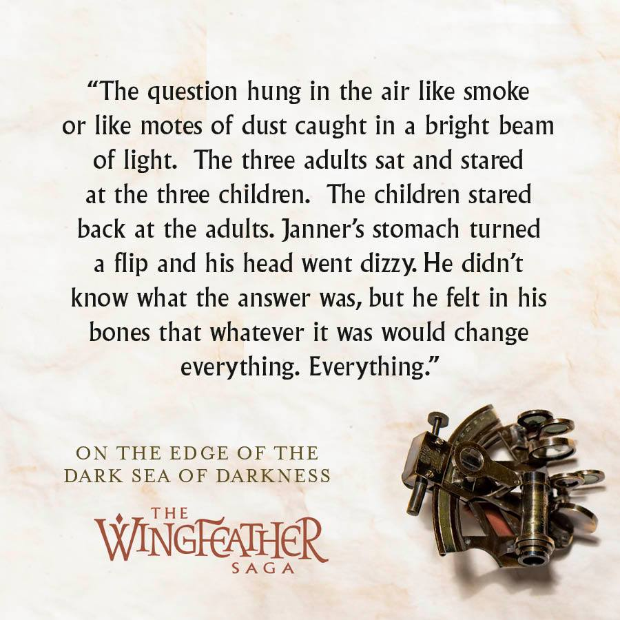 Wingfeather Saga Janner quote