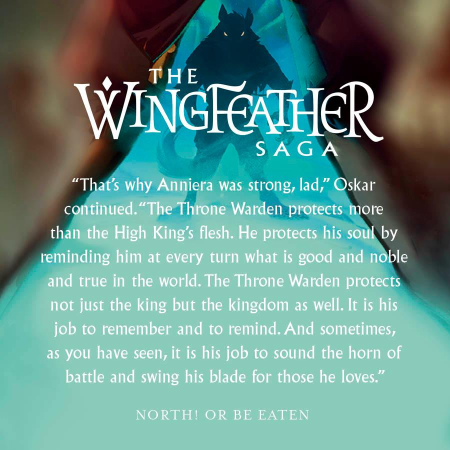 Wingfeather Saga quote blue